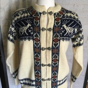Dale of Norway wool Nordic style cardigan